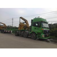 3 Axle Truck Mounted Crane Container For Transportation Self Loading Manufactures