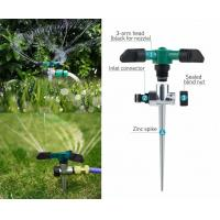 Zinc Alloy Pin Adjustable Garden Water Sprinkler Automatic 360° Rotating Lawn Sprinkler System Manufactures
