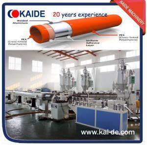 Plastic pipe extrusion machine for PPR-AL-PPR pipe Manufactures