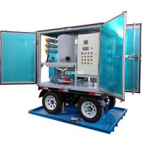 Weatherproof Double Stage Transformer Oil Filtration Plant with Trailer Manufactures