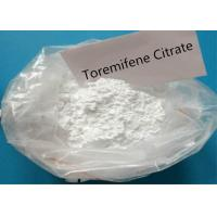 China Toremifene Citrate Anti Estrogen Steroids Powder CAS 89778-27-8 With High Purity on sale