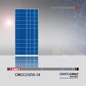 Quality 260W Solar Panel Poly (CNCC260W-24) for sale