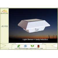 IP44 Outdoor Wall Mounted Solar Lights , 150lm / 15lm Motion Detector Lights Solar Powered Manufactures