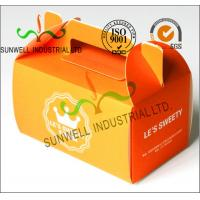 Offset Printing Corrugated Cardboard Food Food Serving Boxes Art Paper Top E Flute Manufactures