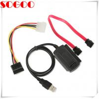 SATA/PATA/IDE cable Drive to USB 2.0 For 2.5 / 3.5 Inch Hard Drive Manufactures