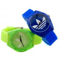 Quality PVC Strap Girls Analog Display Gift Watch , Wellbeing Plastic Watch for sale