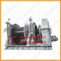 Single Type Wire Rope Electric Boat Winch Manufactures