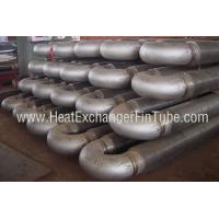 A213 T91 Alloy Steel Tubes , HF Hairpin Spiral Welded Fin Tube For Economizers Manufactures