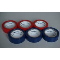 Shiny And Fire Retardant PVC Electrical Tape Blue / Red For Wires And Cables Manufactures