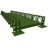 China Durable Industrial Prefab Steel Bridge Construction Galvanized Modular Steel Structure on sale