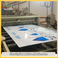 ACP Panel Board Surface Protection Film Roll Hot Temperature Endurable Manufactures