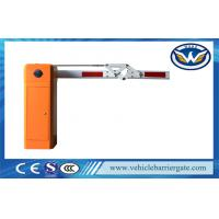 High Speed Car Park Barriers With 4.5 meters 180 Degree Articulated Boom Manufactures