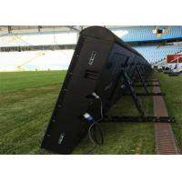 China Adjustable Angle Sport Perimeter LED Display Front / Rear Service Access on sale