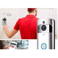 720P HD Wireless Video Doorbell System 166° Wide Angle Lens With Indoor Chime Manufactures