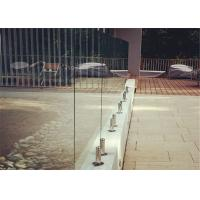 Buy cheap New design stainless steel spigot glass railing with high quality from wholesalers