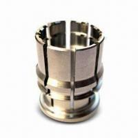 CNC Lathing/Turning Connector Part with 1 to 30mm Outer Diameter, OEM/ODM Orders are Welcome Manufactures