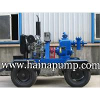 Buy cheap Diesel Engine Operated Trailer Mounted Pump from wholesalers