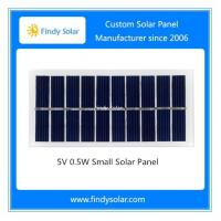 China 5V 0.5W Small Solar Panel on sale