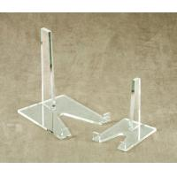 China clear acrylic plate display stand on sale
