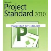 Stable FPP Microsoft Office Product Key Codes , MS Project 2010 Professional Key Manufactures