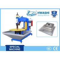 Manual / Kitchen Sink Seam Welding Equipment 1000kg Weight With Stainless Steel Material Manufactures