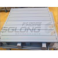 Waterproof Galvanized Powder Coating Steel Metal Pallets Single Faced Eco-Friendly Manufactures