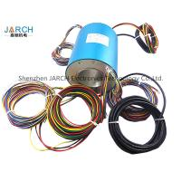 Conductive Through Bore Slip Ring 70mm With 24 Wires Contact Slip Ring Assemblies rotating electrical connector Manufactures
