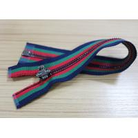 Colorful Spandex Catsuit Heavy Duty Coat Zippers , Coats And Clark Fashion Zippers Manufactures