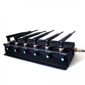 โรงงาน Jammer   15W High Power Adjustable 3G Mobile Phone VHF UHF Walkie-Talkie Jammer Manufactures