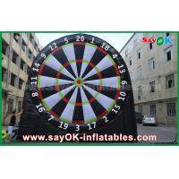 5m Height Inflatable Sports Game 0.55mm PVC Football Darts Board For Playing Manufactures