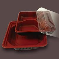 plastic food tray with 3 compartment Manufactures