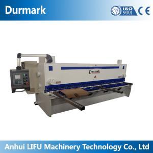 China QC11K CNC Hydraulic guillotine shearing machine 6*3200 stainless steel sheet on sale