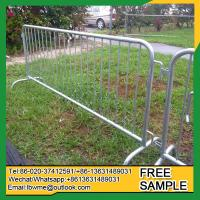 Quality Hutchinson temporary fence panels hot sale Greensboro no dig fence for sale