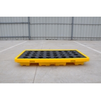 China 300mm HDPE Spill Containment Pallets For Chemical Oil Tank on sale