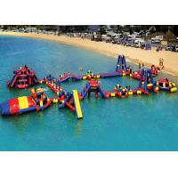 Obstacle Course Inflatable Aqua Park High Temperature And Low Temperature Resistance Manufactures