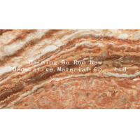 Custom Patterned PET Marble Adhesive Paper Decorative Films For Windows Manufactures