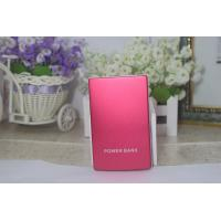 10000mA Red Portable Emergency Charger Dual Port For Mobile Phone Manufactures