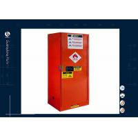22 Gallon Physics Laboratory Metal Storage Cabinet , Welcomed Solvent Storage Cabinet Manufactures