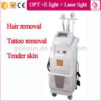 High Quality Hair Removal OPT+E-light+ yag laser Tattoo Removal Triple Mode Manufactures