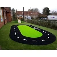 Kindergarten Soft  Artificial Synthetic Grass Harmless To Children Manufactures