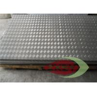 3003 Embossed Brushed Aluminium Checker Plate Anti - Oxidation Manufactures
