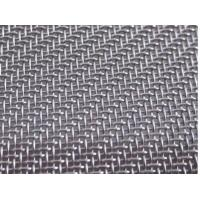China 100mesh to 500mesh Stainless Steel Twill Woven Wire Mesh/Fabric, AISI 304L, 316L on sale