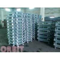 Stacking Collapsible Steel Wire Mesh Pallet Cage For Warehouse Storage Manufactures
