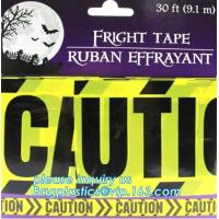 Halloween Birthday Party theme warning caution PE tapes for event decoration,Halloween Caution Tapes,Halloween Warning T Manufactures