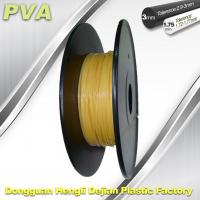 Water Soluble Support Material PVA 3D Printing Filament 1.75 / 3.0 mm Natural Manufactures