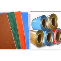 China Custom P Paint Colour Coated Coil , Aluminium Colour Coated Coils For Composite Panel on sale