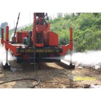 Quality Full Hydraulic Jet Grouting Drilling Rig vice winch and electrical control power for sale