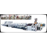 PE / PPR / PP / PVC Pipe Extrusion Machine Single Screw Extruder Manufactures