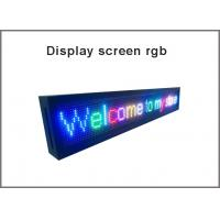 10mm outdoor anti-water 320*160mm 32*16 pixel high brightness video 1/4scan full color dip led display p10 led module Manufactures