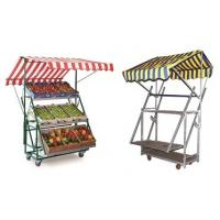 China 350kg Shelf Display Rack Warehouse Logistics Supermarket Picking Hand Push Cart on sale